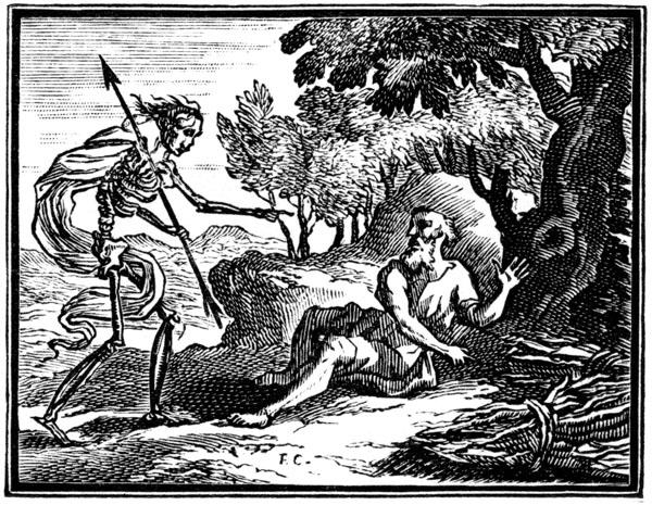 akg-images - La mort et le bûcheron