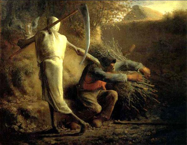 univers de la fable : La mort et le bûcheron... -